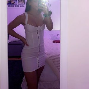 princess Polly white dress
